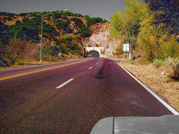Mule Mountain Tunnel - Bisbee, Arizona